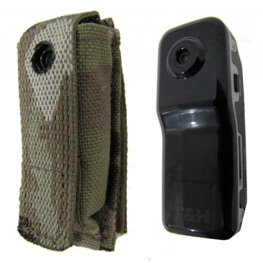 Multicam Mini Helmet Camera Pouch