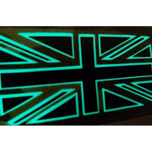 IRR and GLOW Union Flag ( Hook backed )